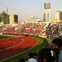 Photo taken at Supachalasai Stadium by Kachen S. on 2/13/2011