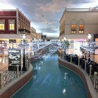 Photo taken at Villaggio Mall by Dahlia R. on 5/6/2012