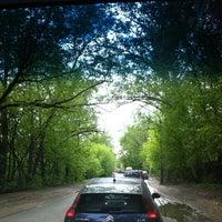 "Photo taken at Переезд ""Новодачная"" by Irina A. on 5/13/2012"