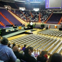 Photo taken at Littlejohn Coliseum by Gabriela C. on 5/11/2012