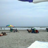 Photo taken at 44th street beach by Alexandra C. on 8/21/2012