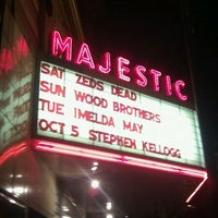 Photo taken at Majestic Theatre by Steven K. on 10/2/2011