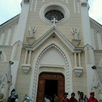 Photo taken at Igreja Santa Edwirges by Tadiane B. on 10/30/2011
