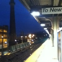 Photo taken at Yonkers Train Station - Metro North & Amtrak by Johnny A. on 1/26/2012