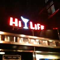 Photo taken at Hi-Life Restaurant & Lounge by CAESAR D. on 3/8/2012