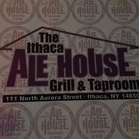 Photo taken at Ithaca Ale House by Alyssa P. on 4/14/2012