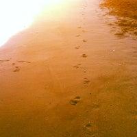 Photo taken at Playa Ferrara by Luis M. on 7/18/2012