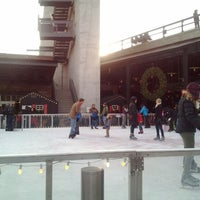 Photo taken at The Standard Ice Rink by Gabe on 12/29/2011
