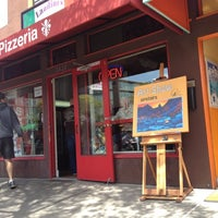 Photo taken at Landini's Pizzeria by Bil B. on 4/14/2012