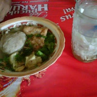 Photo taken at Bakso cak to by Shasuz S. on 10/21/2011