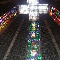 Photo taken at Catedral Metropolitana de São Sebastião by Paulo P. on 10/1/2011