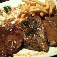 Photo taken at Star Village Western Steak House by Jng H. on 10/8/2011