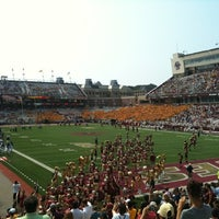 Photo taken at Alumni Stadium by Paul S. on 9/3/2011