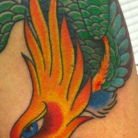 Photo taken at Tattoo Theils by Mo S. on 6/16/2011