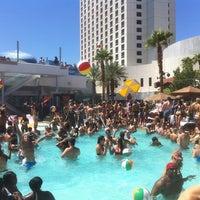Photo taken at Palms Pool & Dayclub by Caleb S. on 9/2/2011