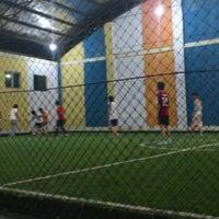 Photo taken at Futsal 1818 Ceria by syahri a. on 11/29/2011