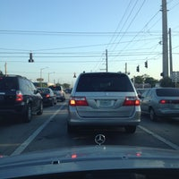 Photo taken at Intersection W Oakland Park Blvd & N Powerline Rd by Frank Vigliotti @. on 4/10/2012