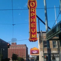 Photo taken at Orpheum Theater by Jake S. on 8/27/2011