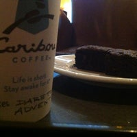 Photo taken at Caribou Coffee by Abdulaziz M. on 9/9/2012