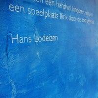 Photo taken at Speelplaats 'De boomstam' by Erik v. on 5/24/2012