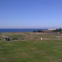 Photo taken at Half Moon Bay Golf Links by Mike L. on 1/12/2012