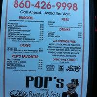 Photo taken at Pop's Burgers & Fries by Tomek Y. on 10/5/2011