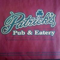 Photo taken at Patrick's Pub & Eatery by Kara G. on 12/29/2010