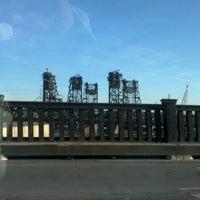 Photo taken at General Pulaski Skyway by Robert M. on 4/17/2012