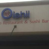 Photo taken at Oishii Japanese Restaurant & Sushi Bar by Joseph E. on 3/10/2012