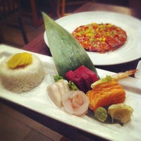Photo taken at River Japanese Cuisine by Ophelia T. on 8/13/2012