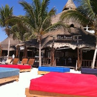 Photo taken at The Blue Parrot Beach Club by Danny P. on 4/15/2011
