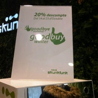 Photo taken at Skunkfunk Store Barcelona by Sandra M. on 10/16/2011