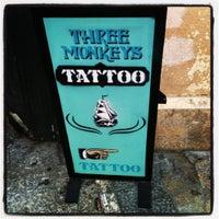 Photo taken at Three Monkeys by Vladimir L. on 8/4/2012