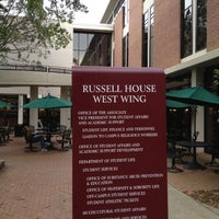 Photo taken at Russell House by Paul R. on 5/3/2012