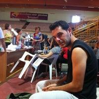 Photo taken at Palasport Fontescodella by Alessandro L. on 7/8/2012