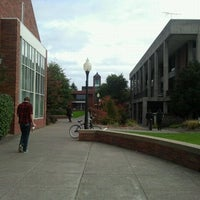 Photo taken at Willamette University by Hen F. on 10/21/2011