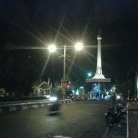Photo taken at Alun - Alun Jepara by galvanoputra20 on 8/20/2012
