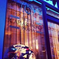 Photo taken at Hotel Caesar Prague by Albert C. on 7/11/2012