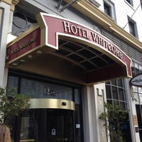 Photo taken at Hotel Whitcomb by Christopher D. on 8/22/2012