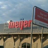 Photo taken at Meijer by Ben M. on 9/10/2011