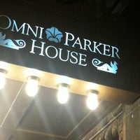 Photo taken at Omni Parker House by Monika N. on 8/19/2011