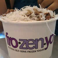 Photo taken at FroZenYo by Missy P. on 9/10/2011