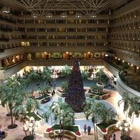 Photo taken at Hyatt Regency Orlando International Airport by Shelley F. on 12/21/2011