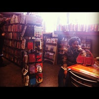 Photo taken at Red Emma's Bookstore Coffeehouse by Benjamin J. on 11/12/2011