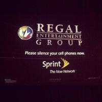 Photo taken at Regal Cinemas Winter Park Village 20 & RPX by Hector S. on 1/29/2012