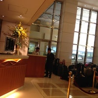 Photo taken at The Wharney Guang Dong Hotel Hong Kong by Yongyoot T. on 3/18/2012