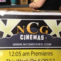 Photo taken at NCG Cinemas by J. B. on 6/24/2012