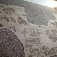 8/10/2012 tarihinde Emrecan K.ziyaretçi tarafından Büyük Saray Mozaikleri Müzesi'de çekilen fotoğraf