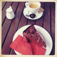 Photo taken at Cafe Pavlína by Veronika on 7/19/2012