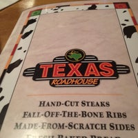 Photo taken at Texas Roadhouse by Chelcey C. on 4/27/2012